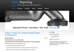 Water Reporting Home Page